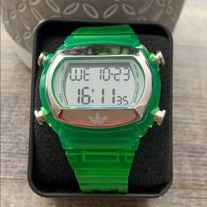 Adidas Oddity Candy green watch, unisex